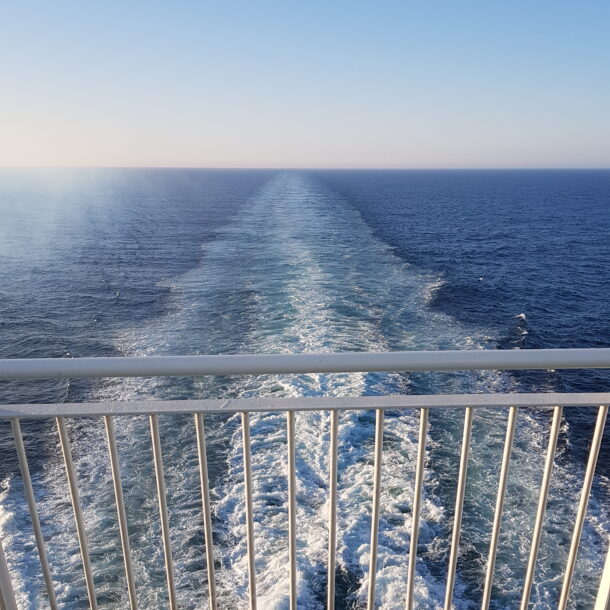 Leaving the past behind and sailing into the future